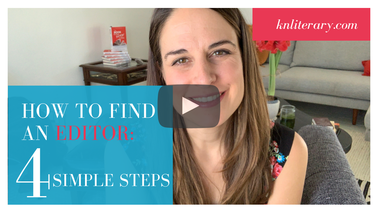 How to Find a Great Editor in Four Steps