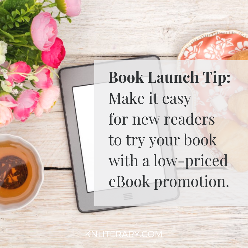 book launch tip