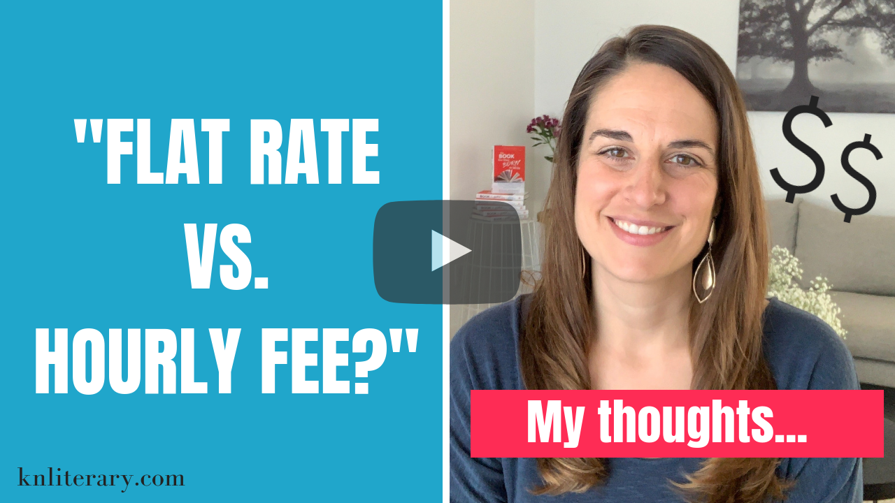 Flat Rate vs. Hourly Fee? How to Pay Your Book Editor